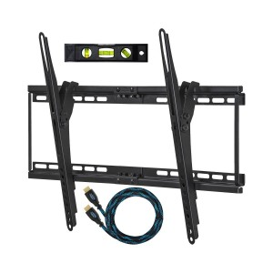 Cheetah Mounts Flush Tilt Dual Hook Flat Screen TV Wall Mount Bracket for 32-65 inch  TVs电视壁挂
