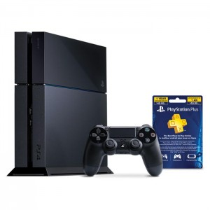 PLAYSTATION 4/PS4 BUNDLE WITH 12 MONTH MEMBERSHIP游戏机