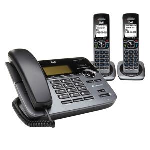 翻新BELL D3588-2 DECT 6.0 CORDED/CORDLESS PHONE蓝牙数字无绳电话机