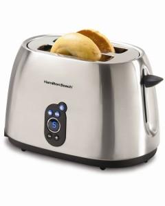 Hamilton Beach 2 Slice Brushed Metal Toaster烤面包机