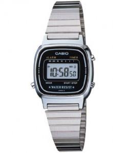 Casio LA670WA-1 Womens Daily Alarm防水电子手表