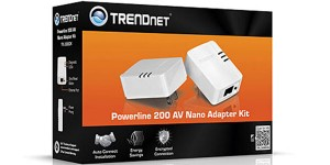 TRENDnet TPL-308E2K 200Mbps Powerline两只装200M电力猫