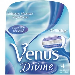 Gillette Venus Divine 4 Cartridges剃须刀