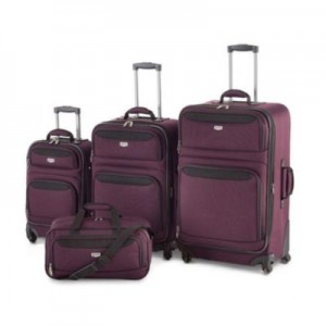 Quest® Trek 4-Piece Nested Luggage Set 4件套行李箱