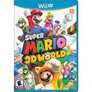 Wii U Super Mario 3D World Video Game