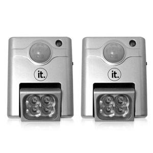 WIRELESS INDOOR MOTION SENSOR LIGHTS室内室外运动感应灯两只装