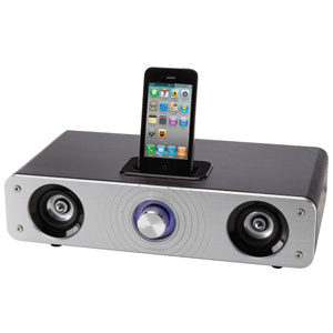 翻新INSTUDIO 2.1-CHANNEL HI-FI SPEAKER FOR IPHONE/IPOD