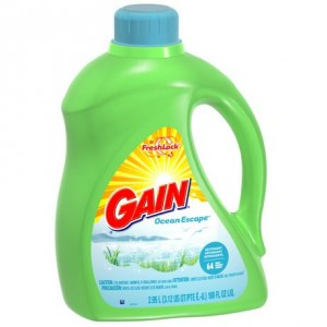 Gain Ocean Escape Liquid Detergent 2.95升装洗衣液