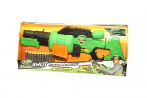 Zuru X Shot Turbo-Fire Dart Shooter射击游戏枪