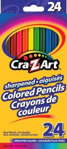 Cra-Z-art Colored Pencils 24色彩色铅笔