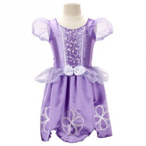 Sofia the First Dress in a Bag索菲亚紫色公主裙