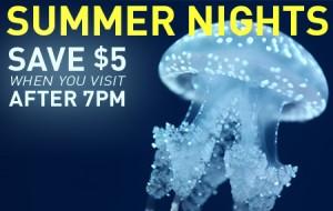 Ripley's Aquarium水族馆4人同行预定年票9折,晚7点后单日门票每人优惠5元