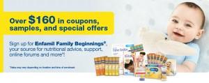 Enfamil美赞臣加拿大官网免费新生儿试用样品及coupon