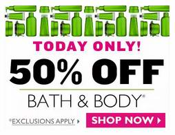 The Body Shop美体小铺加拿大官网Bath & Body以及Hand Creams半价特卖