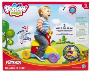 PLAYSKOOL POPPIN' PARK Bounce 'N Ride蹦蹦跳音乐童车
