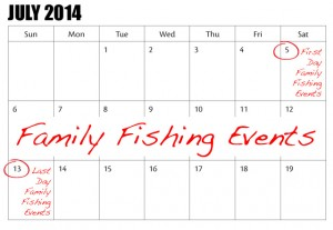 Ontario Family Fishing Events License-Free Days安省免费钓鱼周