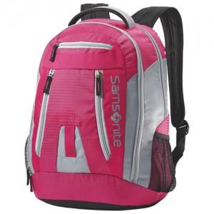 Samsonite Travel Equipment Backpack粉红、紫色背包