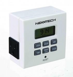 NEXXTECH INDOOR WEEKLY DIGITAL TIMER室内用数字定时开关