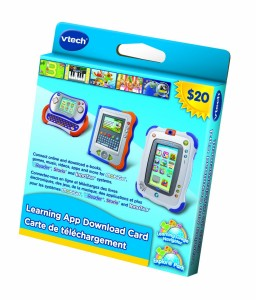 VTech Learning Application Download Card学习软件下载充值卡