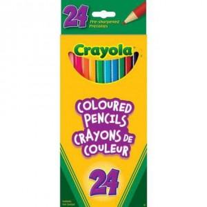 Crayola 24 Coloured Pencils彩色铅笔