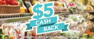 超市购物Checkout 51回馈现金,新用户注册限时赠送5元