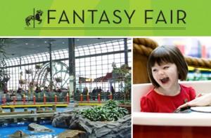 Fantasy Fair室内游乐场门票及生日派对套餐半价