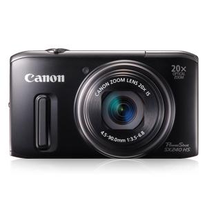 展示品CANON POWERSHOT SX240 HS数码相机,20倍光学变焦,25mm广角