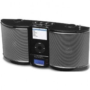 Emerson Research iP100BKC Portable Docking Station for iPods