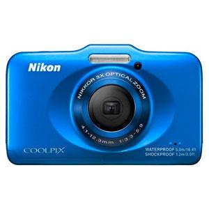 NIKON COOLPIX S31防水防震防尘三防数码相机