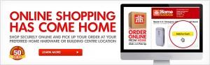 Home Hardware提供网购店内免费取货服务
