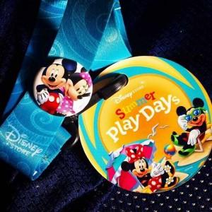 参加Disney Summer Play Days获取免费挂章