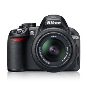 NIKON D3100 14MP DIGITAL SLR CAMERA单反相机