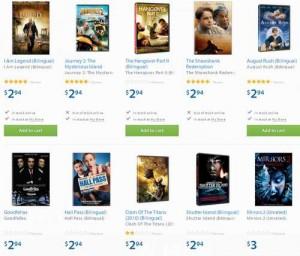 部分DVD电影碟片特卖2.94元起
