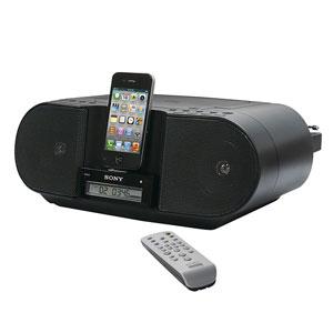 包装破损SONY CD BOOMBOX FOR IPHONE AND IPOD