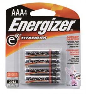 ENERGIZER E2™ AAA ALKALINE BATTERY 4-PACK