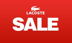 Lacoste 200余款男女儿童服饰半价特卖