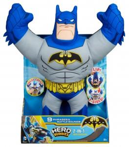 BATMAN - HERO BUDDIES 2-IN-1 BATMAN PLUSH FIGURE