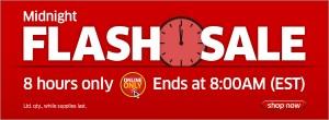 The Source午夜8小时Flash Sale,早8点截止