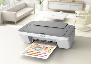 Canon PIXMA MG2420 all-in-one printer彩色扫描复一体喷墨打印机