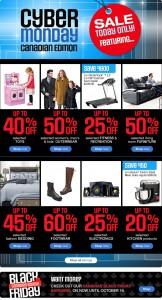 Sears Cyber Monday特卖