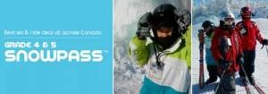 加拿大4-5年级学生滑雪证开卖