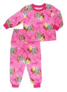 Disney Girls 2 Piece Flannel Pyjama Set纯棉睡衣(size:5-6X)
