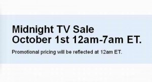 Future Shop午夜电视及电视柜特卖7小时