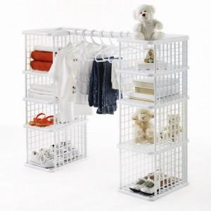 neatfreak 11PC modular youth crate closet