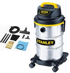 Stanley 5 Gallon Stainless Steel Wet/Dry Vacuum