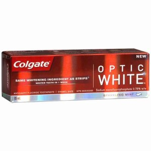 Colgate Optic White 光洁美白牙膏85ml 一周见效