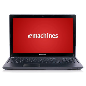 "翻新ACER EMACHINES 15.6"" LAPTOP WITH AMD C50 DUAL-CORE, 2GB RAM, 320GB - BLACK"