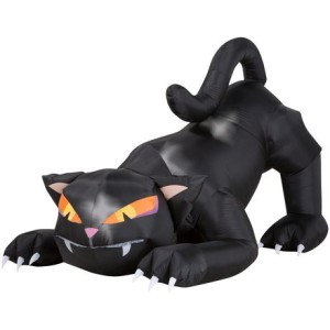 Animated Airblown® Inflatable Black Cat