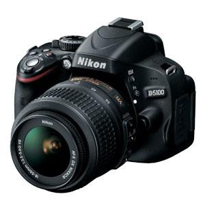 NIKON D5100 16.2MP DSLR CAMERA WITH AF-S 18-55MM VR LENS - OPEN BOX