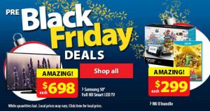 Walmart 黑色星期五前特卖正式开始